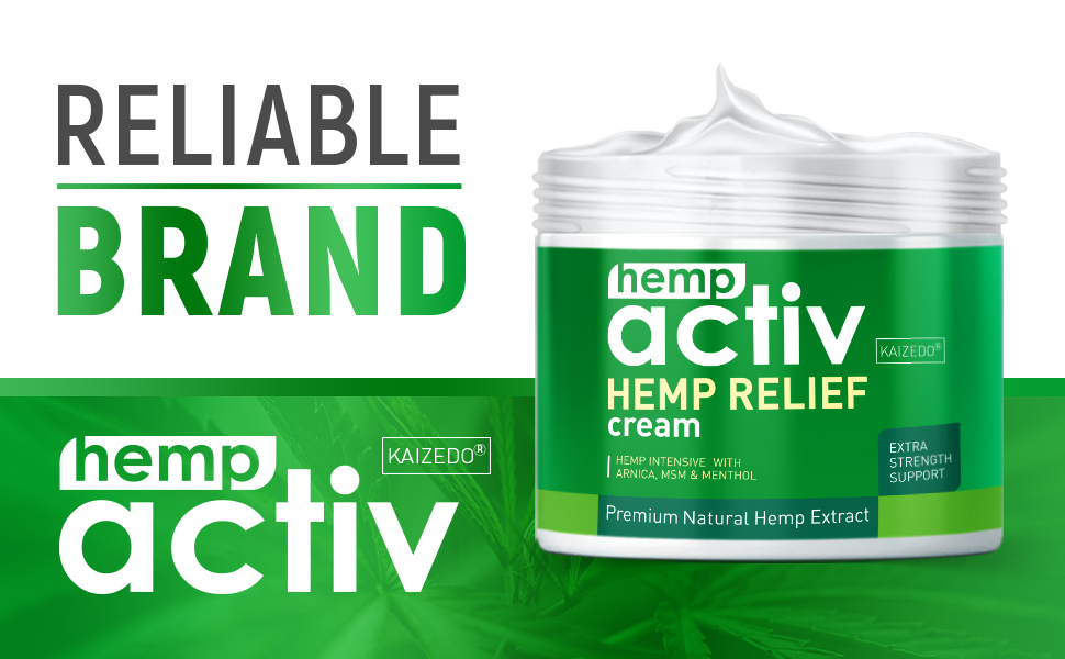 reliable hemp cream
