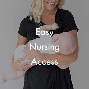 Easy nursing access