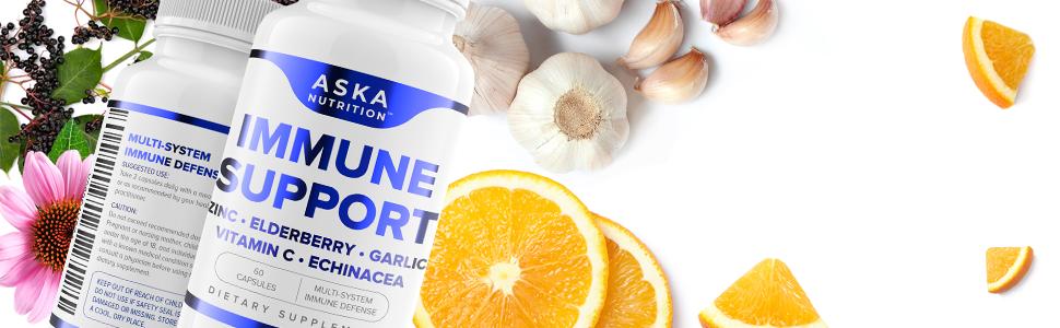 Aska Nutrition Immune Support