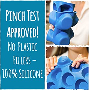 Silicone Muffin Pans Set Pinch Test Approved