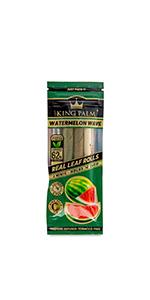 King Palm Watermelon Wave Wraps Mini Size Palm Pre Rolled Cone