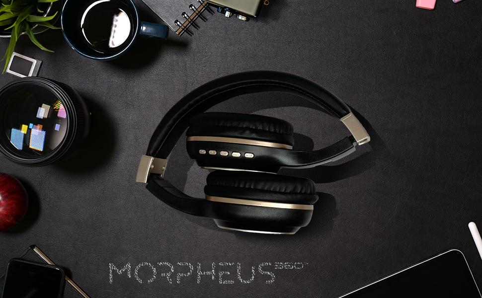 Bluetooth Headphones, Wireless Headphones over ear, Wireless Headphones with Microphone, Comfortable