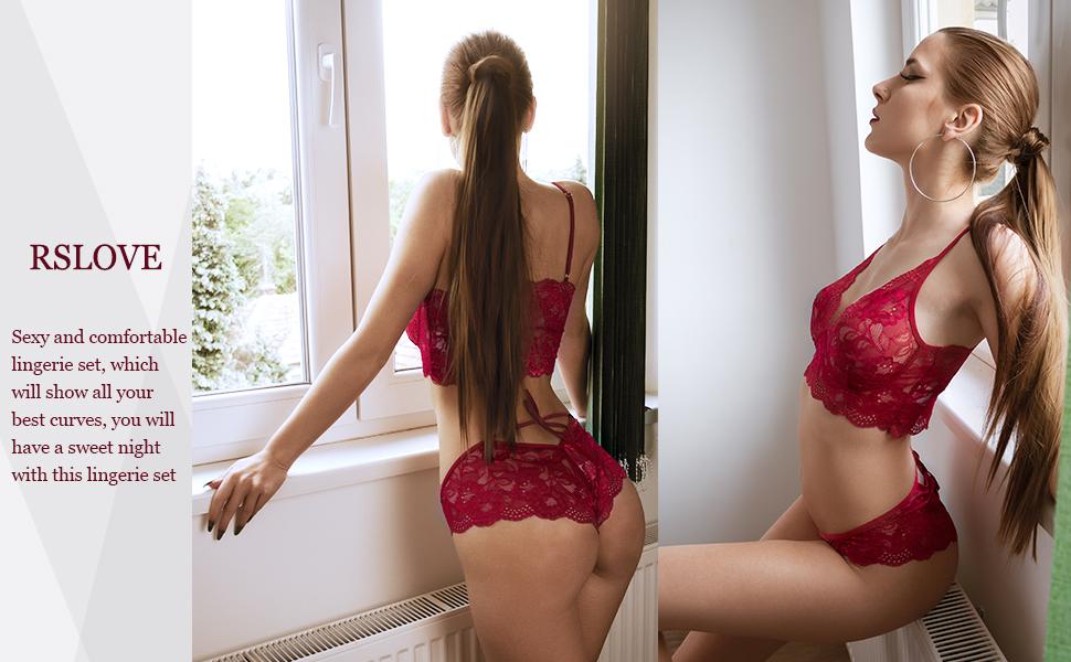 Sexy Bra and Panty Set