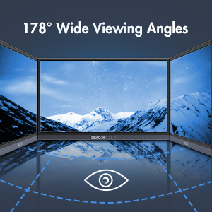 178° Wide Viewing Angles