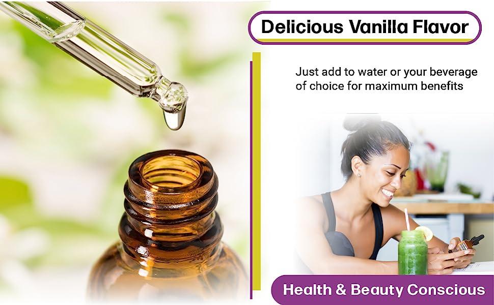 delicious vanilla flavor