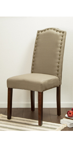 Soft cotton chairs with back