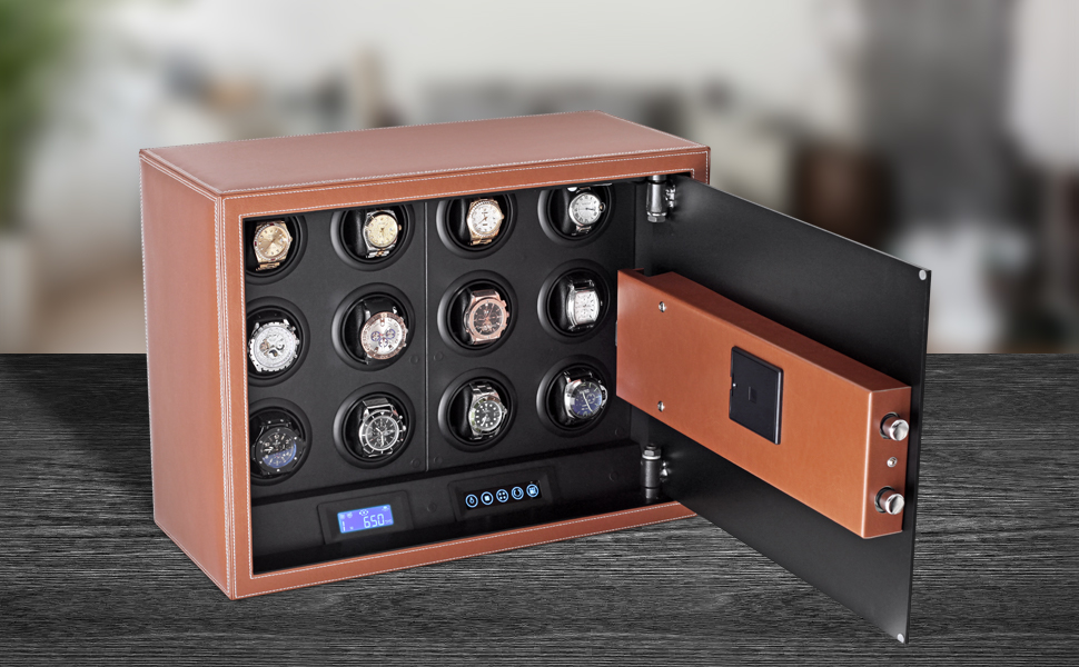 Watch winder security safe by Leader Watch Winders