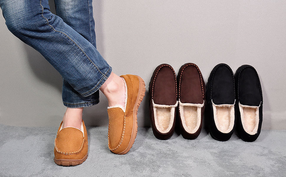 Classic moccasin shoes