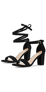 Lace Up and Ankle Strap Sandals