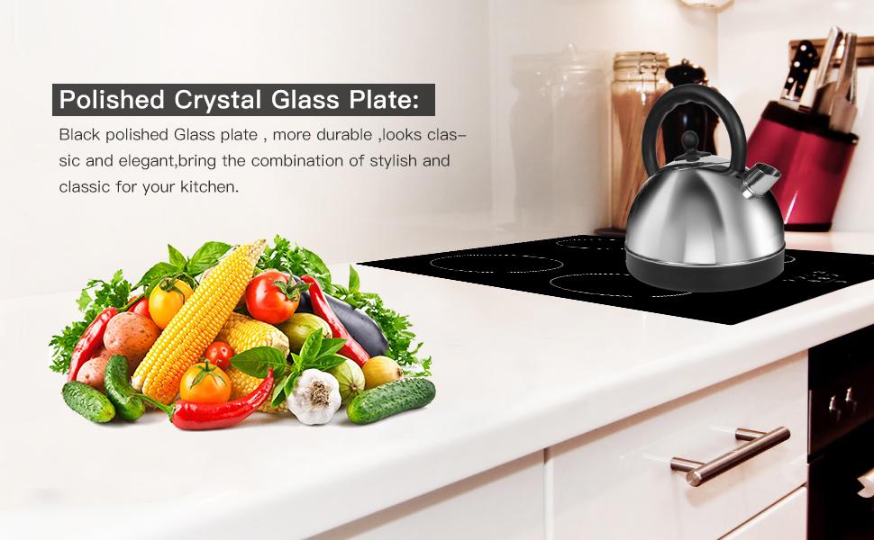Polished Crystal Glass Plate