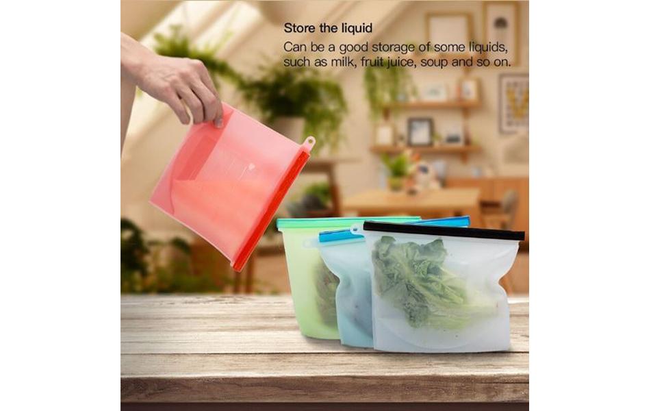 silicone food bag