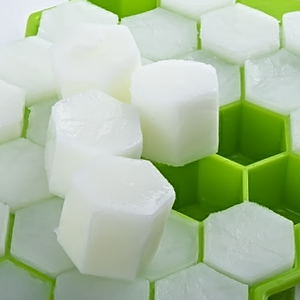 Bac à Glaçon en Silicone Hexagonal