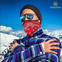 fashion lifestyle design balaclava bandana face mask tube rave adult fish sport germ summer rave