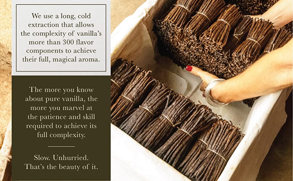 We use long, cold extraction that allows the flavors to achieve their magical aromas