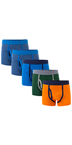 YoungSoul Boys Underwear Briefs Pattern Cotton Pants 5 Pack 2-12 Years