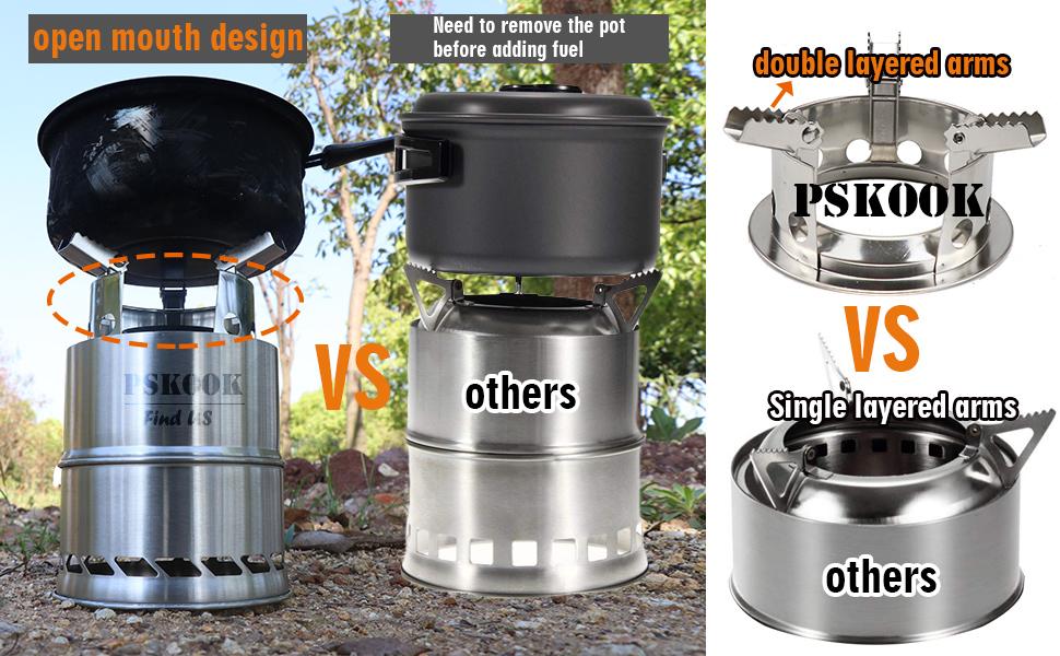 pskook stove vs others