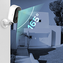 wireless security camera outdoor battery powered