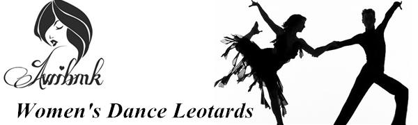 Women's Halter Neck Bodysuit Keyhole Back Gymnastic Ballet Dance Leotard Tops Dancewear Costumes