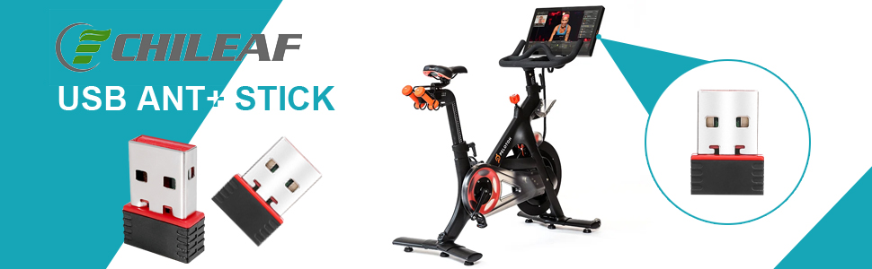 TacX PerfPRO Studio Bkool Suunto Win7/&10 CHILEAF ANT310 ANT+ USB Stick Dongle for Wahoo,Garmin TrainerRoad to Upgrade Bike Trainer Forerunner CycleOps Zwift MacBook,TacX Mini ANT+ Receiver
