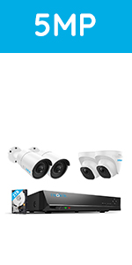 8CH POE Security Camera System