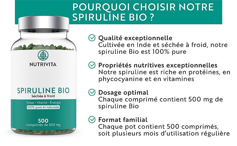 Ou Acheter Spiruline : Choix - Qualité - Indications | Comment faire une cure ?