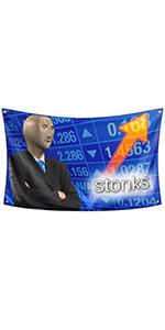 Stonks Flag