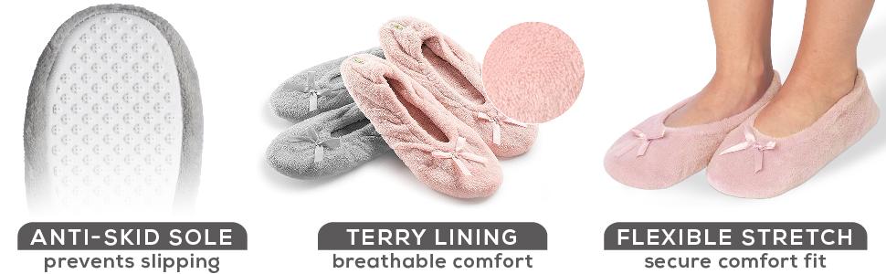 Quality Comfortable Women's Ballerina Slipper