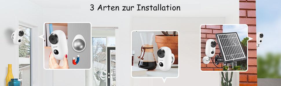 3 Arten zur Installation