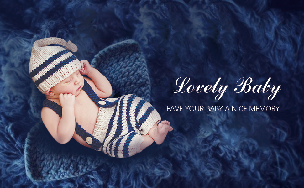 dark blue baby overalls set