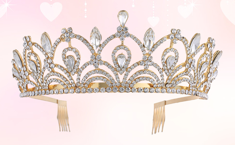 Capricorn *Pre-order* Crystal Crown Comb  Crystal Crown  Bridal Crystal Crown  Crystal Hair Comb Bridal Hair Comb  Crystal Hair Jewelry
