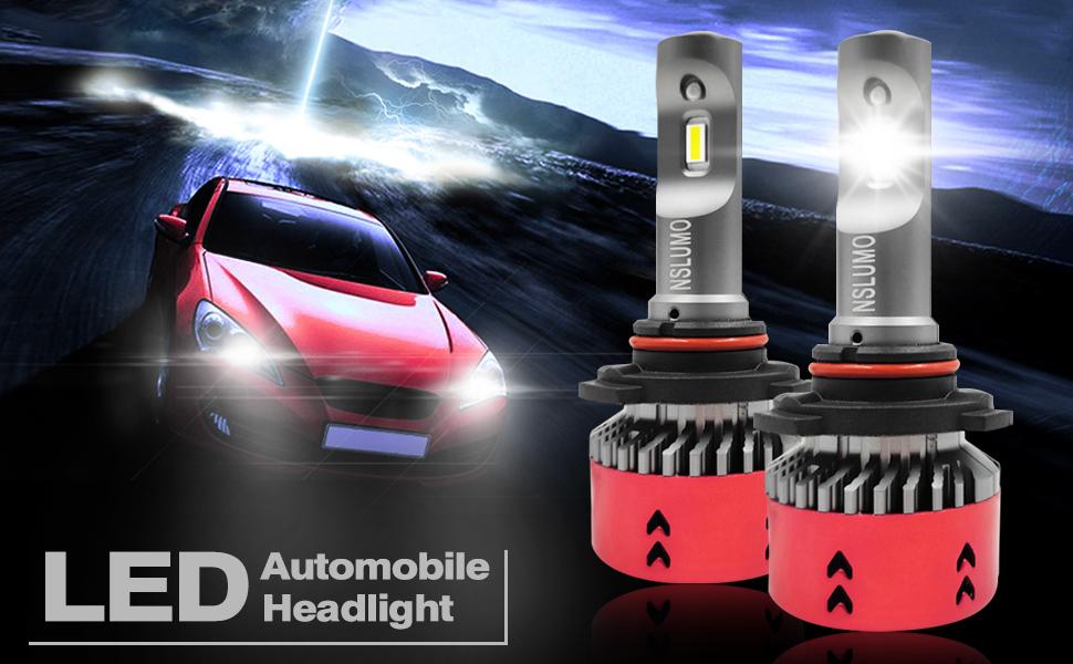 LED Headlight Bulbs Kit CREE Hb3 9005 for Nissan Maxima 02-03 /& 08-14 High Beam