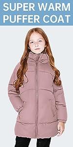 Girls winter jackets