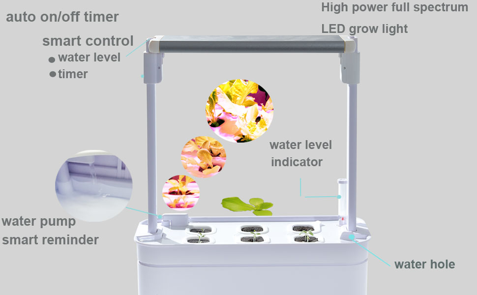Super new indoor garden Right Size perfect grow support