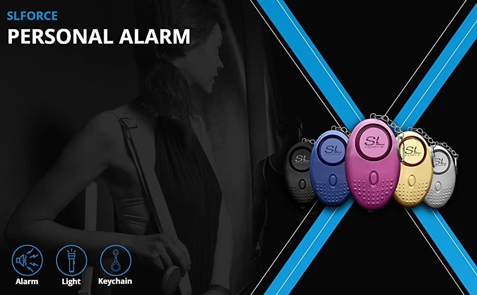SLFORCE Safe Personal Alarms for Women