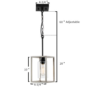 indoor island  lamp