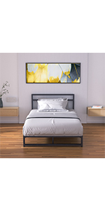 Meta Bed Frame Twin Size