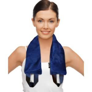 weighted heating pad shoulder wrap neck heated weight wraps microwave light therapy relaxation gift