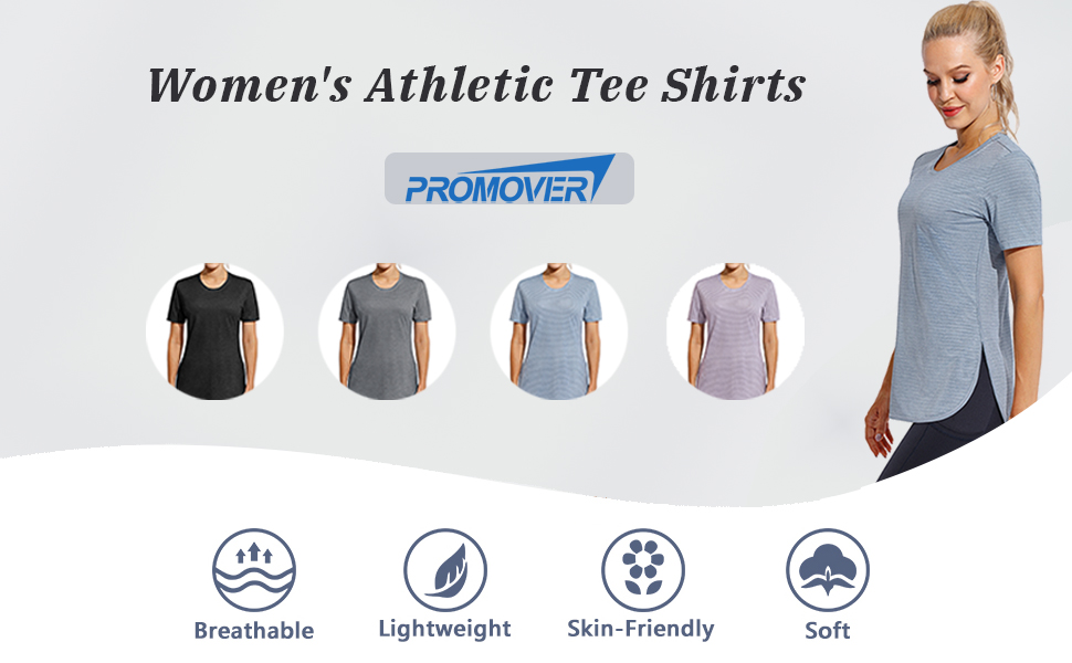 workout T-shirts for women