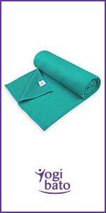 Yogibato Yogamathanddoeken anti-slip & sneldrogend - Yoga Handdoek non-slip - Microvezel Yoga Towel