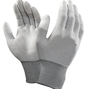 ESD Antistatic PU Coated Hand Gloves