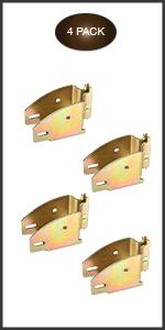 E-Track Wood Beam Sockets