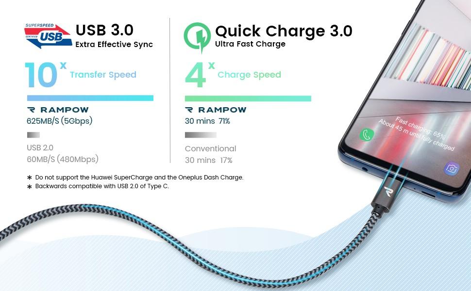 USB 3.0, QC 3.0