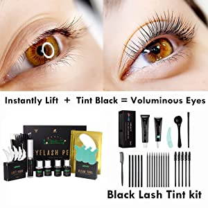 lash lift and tint kit