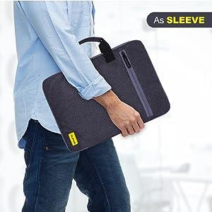 slim laptop sleeve 15.6 inch