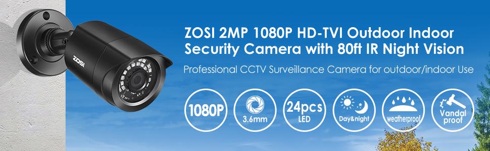 zosi 1080p security camera