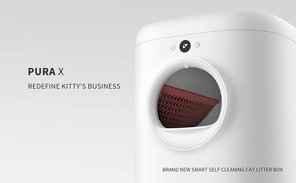 petkit pura x cat litter box with lid enclosure furniture covered mat automatic self cleaning