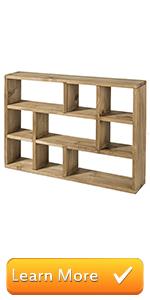 Wall Mounted Shadow Box, Display Shelf, Home amp; Kitchen, Versatile display, Retro style