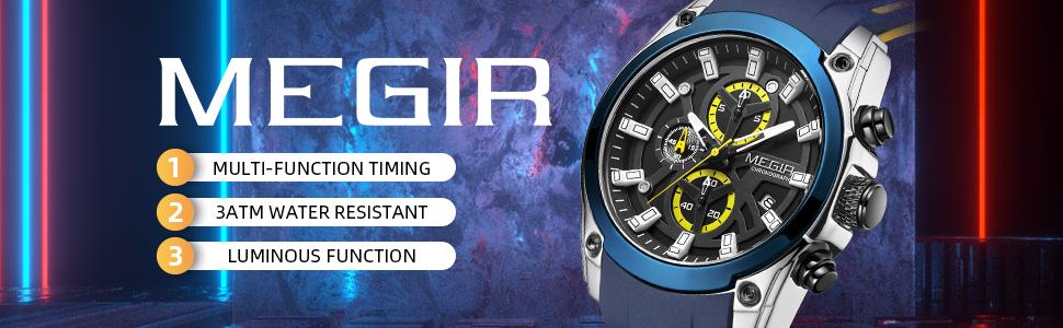 MEGIR watches