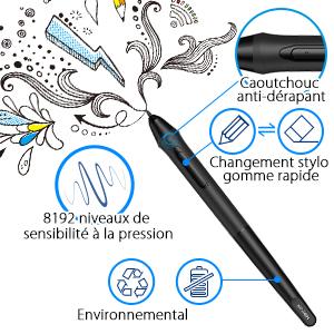 Stylet xp pen artist 15.6