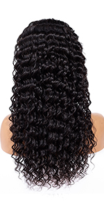 lace front human hair wigs brazilian deep wave lace front wigs human hair wigs with baby hair wigs